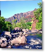 Canyon River  Metal Print by Kevin Smith