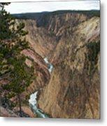 Canyon River Metal Print