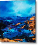 Canyon Song Metal Print by Elise Palmigiani