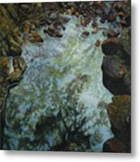 Canyon Study Metal Print