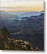 Canyon Sundown Metal Print