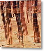 Canyon Textile Design Metal Print