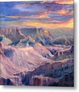 Canyon Twilight Metal Print