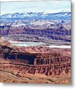Canyonland Panorama Metal Print