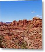Canyonlands National Park - Big Spring Canyon Overlook Metal Print
