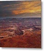 Canyonlands Overlook Utah Metal Print