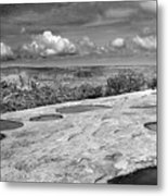 Canyonlands Puddles Metal Print