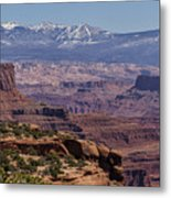 Canyons Of Dead Horse State Park Metal Print