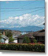 Cap Sante And Chuckanut Metal Print