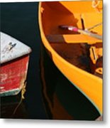 Cape Ann Boats Metal Print