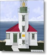 Cape Arago Oregon Metal Print