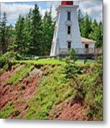 Cape Bear Lighthouse - 2 Metal Print