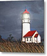 Cape Blanco Glow Metal Print