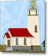 Cape Blanco Oregon Metal Print