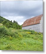 Cape Breton Barn Metal Print