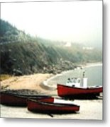 Cape Breton Fishing Boats Metal Print