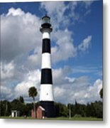 Cape Canaveral Light Florida Metal Print