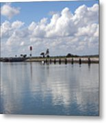 Cape Canaveral Locks In Florida Metal Print