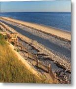 Cape Cod Bay Beach Truro Metal Print