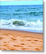 Cape Cod Beach Day Metal Print
