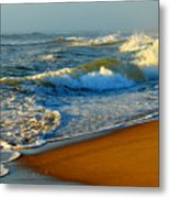 Cape Cod By The Sea Metal Print