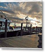 Cape Cod Harbor Metal Print