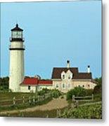 Cape Cod Highland Lighthouse Metal Print by Juergen Roth