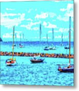 Cape Cod - Sailing Mecca Metal Print