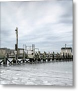 Cape Cod Winter Metal Print