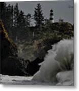 Cape Disappointment Finale Metal Print