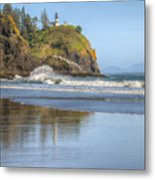 Cape Disappointment - Vertical Metal Print