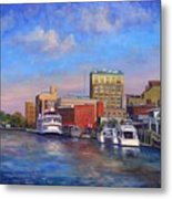 Cape Fear Afternoon Metal Print