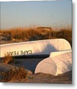Cape Fear Boats Metal Print