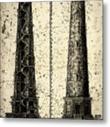 Cape Hatteras Art Metal Print