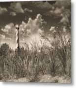 Cape Hatteras Lighthouse 3 Metal Print