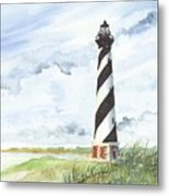 Cape Hatteras Lighthouse Metal Print