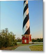 Cape Hatteras Lighthouse In Morning  Metal Print
