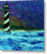 Cape Hetteras Light House Metal Print by Jeanette Stewart