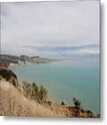 Cape Kidnappers Golf Course New Zealand Metal Print