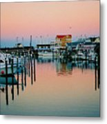 Cape May After Glow Metal Print