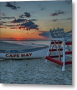 Cape May At Sunrise - Cape May New Jersey Metal Print