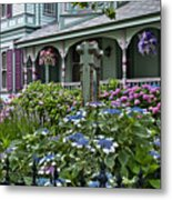 Cape May House And Garden. Metal Print