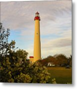 Cape May Lighthouse In Spring Metal Print