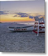 Cape May Mornings Metal Print