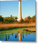 Cape May Point Lighthouse Metal Print