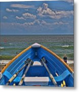 Cape May N J Rescue Boat 2 Metal Print