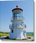 Cape Mendocino Lighthouse Metal Print