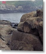 Cape Neddick Lighthouse York Maine Metal Print