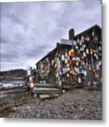 Cape Neddick Lobster Pound Metal Print