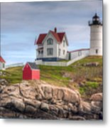 Cape Neddick Nubble Lighthouse I Metal Print